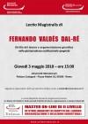Lectio Magistralis di FERNANDO VALDÉS DAL-RÉ