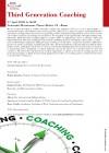 Convegno Scientifico: Third Generation Coaching