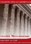 INAUGURAZIONE A.A. 2018/2019 UNIVERSITAS MERCATORUM