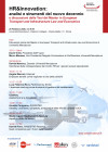 HR&Innovation: analisi e strumenti del nuovo decennio e discussioni delle Tesi del Master in European Transport and Infrastructure Law and Economics